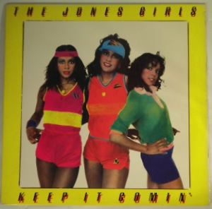 THE JONES GIRLS - Keep it comin' - LP