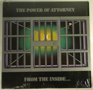THE POWER OF ATTORNEY - From The Inside - LP