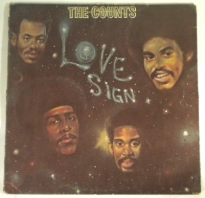 THE COUNTS - Love sign - LP