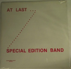 SPECIAL EDITION BAND - At last - 33T