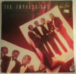 THE IMPRESSIONS - Fan the fire - LP