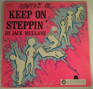 JACK MULLANE - Keep on steppin' - LP