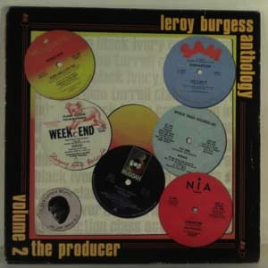 LEROY BURGESS - Anthology Volume 1: The Voice - LP x 2