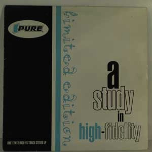 VARIOUS - A Study In High Fidelity - LP
