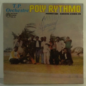 T.P. ORCHESTRE POLY-RYTHMO DE COTONOU - Volume 10 - LP