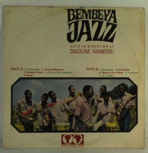 BEMBEYA JAZZ - Sous la direction de Diaoune Hamidou - LP