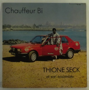 THIONE SECK - Chauffeur Bi - LP