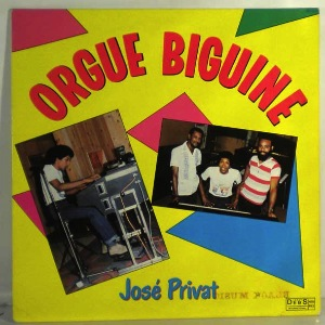 JOSE PRIVAT - Orgue biguine - LP