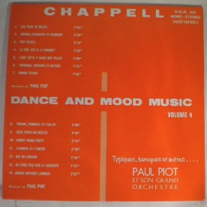 PAUL PIOT - Dance and mood music Vol. 4 - LP