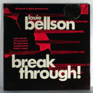 LOUIE BELLSON - Breakthrough! - LP