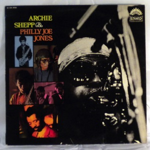 ARCHIE SHEPP AND PHILLY JOE JONES - Same - LP