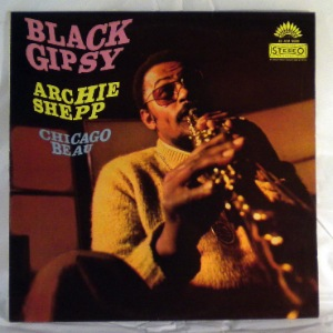 ARCHIE SHEPP - Black Gipsy - LP