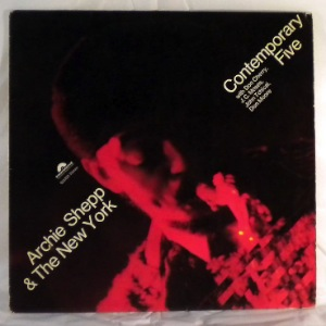 ARCHIE SHEPP & THE NEW YORK CONTEMPORARY FIVE - Same - LP