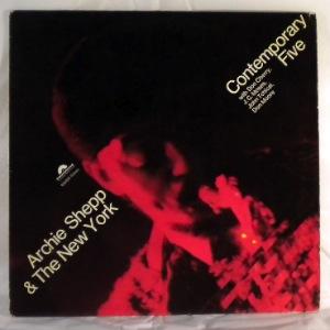 ARCHIE SHEPP & THE NEW YORK CONTEMPORARY FIVE - Same - LP