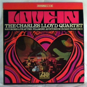 THE CHARLES LLOYD QUARTET - Love-in - LP