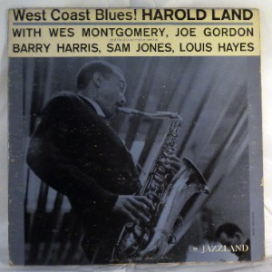 HAROLD LAND SEXTET - West Coast blues - LP