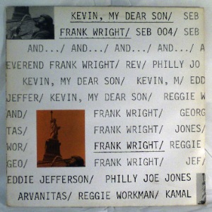 FRANK WRIGHT - Kevin, My Dear Son - LP