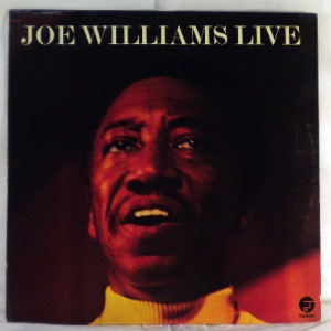 JOE WILLIAMS - Live - LP