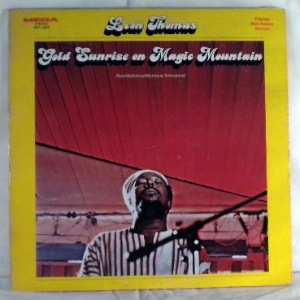 LEON THOMAS - Gold Sunrise on Magic Mountain - LP