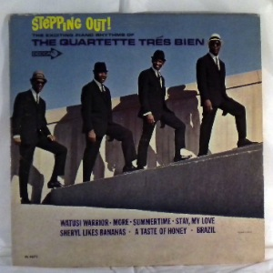 QUARTETTE TRES BIEN - Stepping out - LP