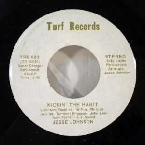 JESSE JOHNSON / CHOCOLATE FUDGE EXPRESS - Kickin' The Habit / Down The Line - 7inch (SP)