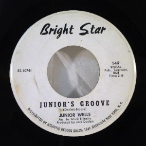 JUNIOR WELLS - Up In Heah / Junior's Groove - 7inch (SP)