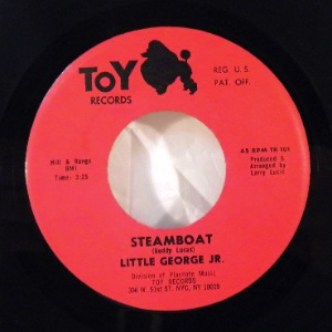 LITTLE GEORGE JR. - Steamboat / Stone Blues - 7inch (SP)
