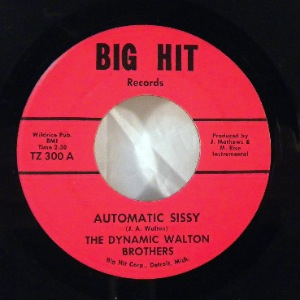 THE DYNAMIC WALTON BROTHERS - Automatic Sissy / Funky Soul - 7inch (SP)