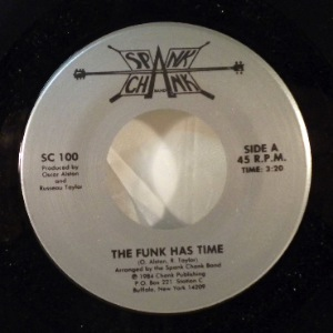 THE SPANK CHANK BAND - The Funk has time - 7inch (SP)