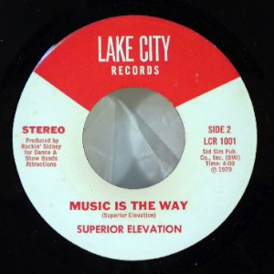 SUPERIOR ELEVATION - Music Is The Way / Superior Funk - 45T (SP 2 titres)