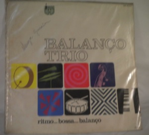 BALANCO TRIO - Ritmo... Bossa... Balanco - LP