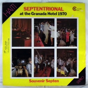ORCHESTRE SEPTENTRIONAL - At the granada hotel 1970 - LP