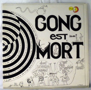 GONG - Gong Est Mort - LP x 2 