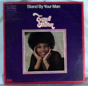 CANDI STATON - Stand by your man - LP