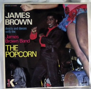 JAMES BROWN - The Popcorn - LP