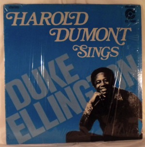 HAROLD DUMONT - Sings Duke Ellington - LP
