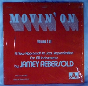 JAMEY AEBERSOLD - Movin' On - LP