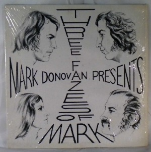 MARK DONOVAN AND FAZE III - The Three Fazes Of Mark - LP