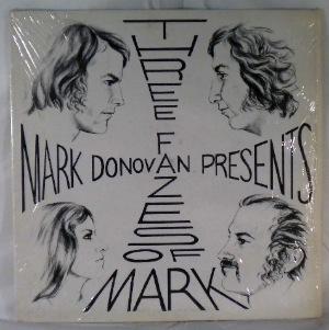 MARK DONOVAN AND FAZE III - The Three Fazes Of Mark - LP
