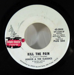 JUNIOR & THE CLASSICS - Kill the pain - 7inch (SP)
