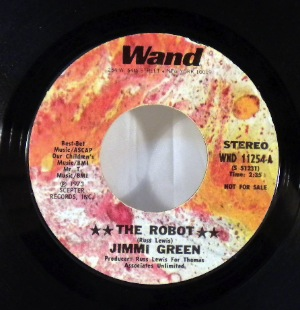 JIMMI GREEN - The robot - 7inch (SP)