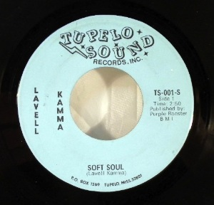 LAVELL KAMMA AND HIS AFRO SOUL REVIEW - Soft soul - 7inch (SP)
