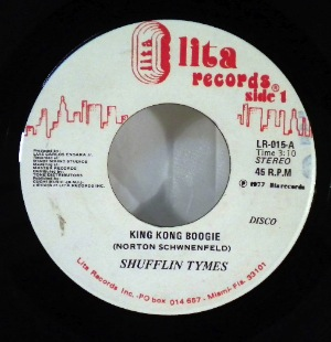 SHUFFLIN TYMES - King Kong Boogie - 7inch (SP)