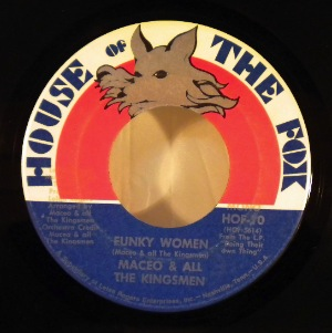 MACEO & ALL THE KINGSMEN - Funky women - 7inch (SP)