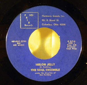 THE SOUL ENSEMBLE - Melon Jelly - 7inch (SP)
