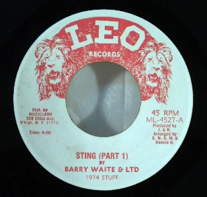 BARRY WAITE & LTD - Sting - 7inch (SP)