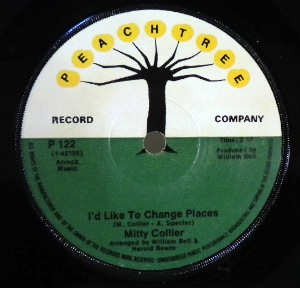 MITTY COLLIER - I'd like to change places - 7inch (SP)