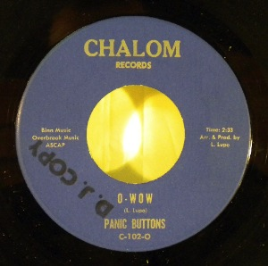 PANIC BUTTONS - O-wow - 7inch (SP)