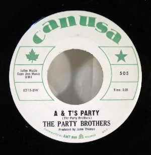 THE PARTY BROTHERS - A&T's party - 7inch (SP)