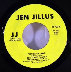 THE JONES FAMILY - Chains of love - 7inch (SP)